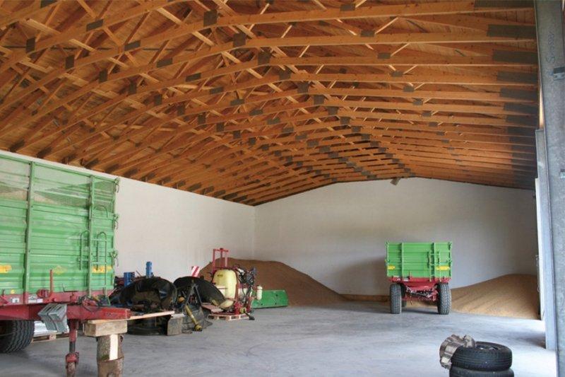 Prefabrykowane wiązany dachowe.